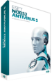 ESET NOD32 Антивирус 5 (лицензия на 1 год на 3 ПК)